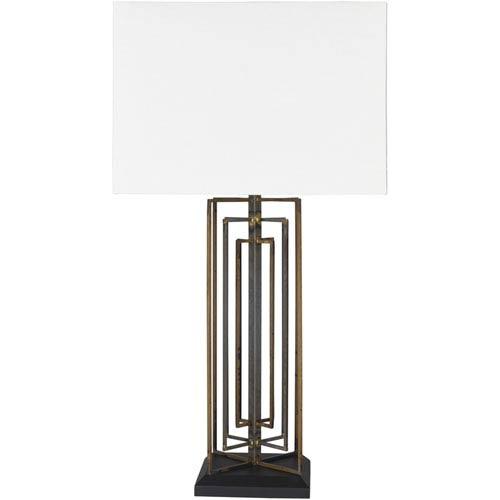 Byron Antiqued Iron Base Portable Lamp