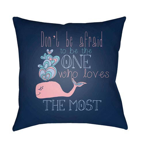 Carolina Coastal Multicolor 20 x 20-Inch Pillow