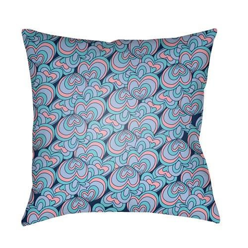 Surya Carolina Coastal Multicolor 18 x 18-Inch Pillow