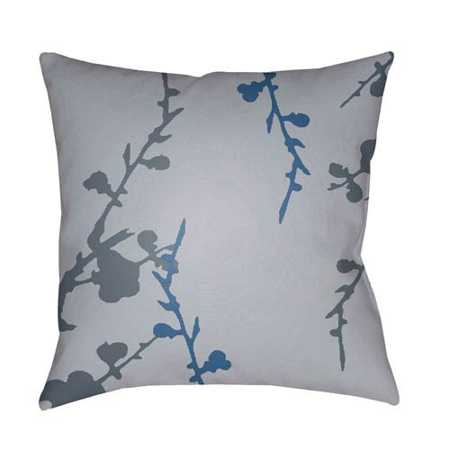 Surya Chinoiserie Floral Multicolor 22 x 22-Inch Pillow