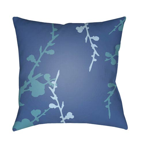 Surya Chinoiserie Floral Multicolor 20 x 20-Inch Pillow