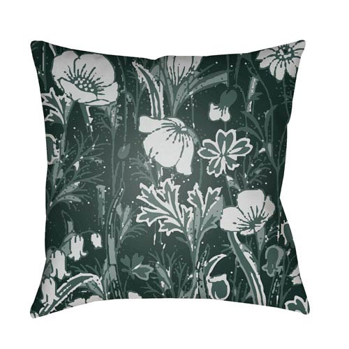 Surya Chinoiserie Floral Multicolor 18 x 18-Inch Pillow