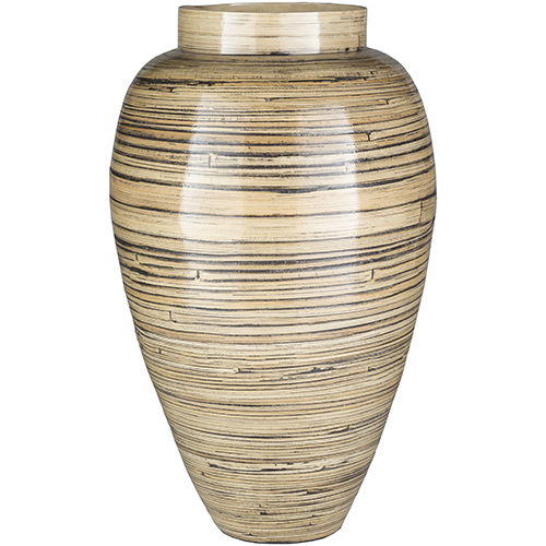 Surya Cane Garden Natural Vase