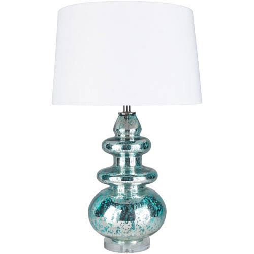 Surya Channing Blue Portable Lamp