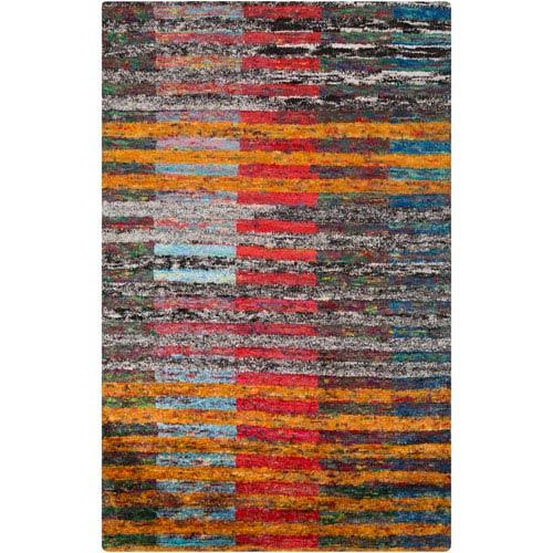 Chocho Multicolor Rectangular: 2 Ft x 3 Ft Rug
