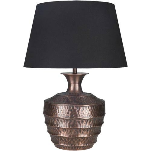 Carlisle Antiqued Copper Base Portable Lamp