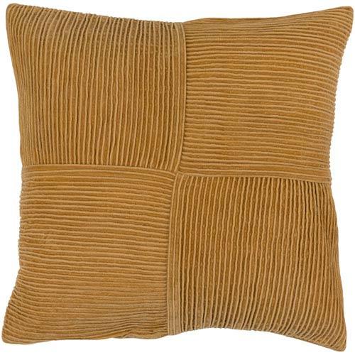 Conrad Orange 18-Inch Pillow Cover