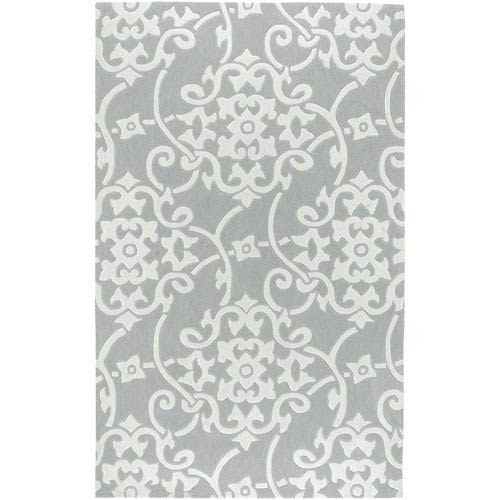 Surya Cosmopolitan Black Rectangular: 5 ft. x 8 ft.Rug
