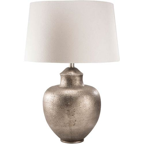 Cooper Antique Silver One-Light Table Lamp