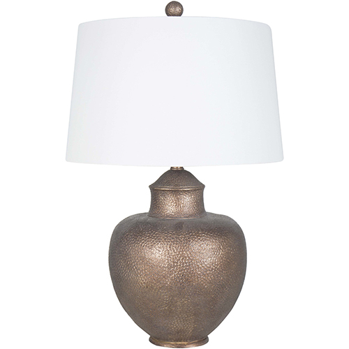 Cooper Antiqued Copper 28-Inch One-Light Table Lamp
