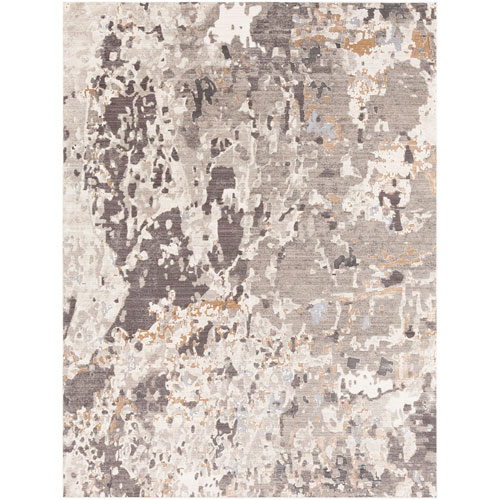 Crescendo Brown Rectangle: 7 Ft. 10 In. x 10 Ft. 10 In. Rug