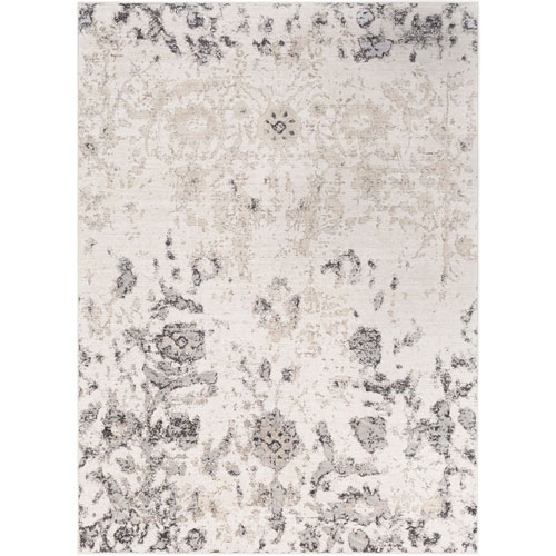 Surya Crescendo White Rectangle: 2 Ft. x 3 Ft. 3 In. Rug