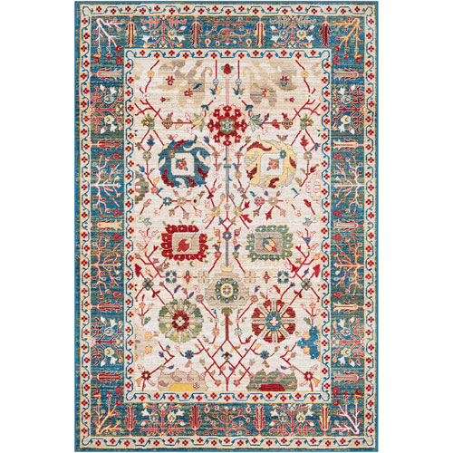 Surya Crafty Blue Rectangle: 9 Ft. x 12 Ft. 3 In. Rug