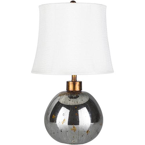 Surya Derby Mercury Glass One-Light Table Lamp