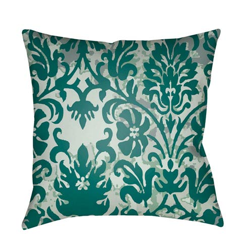 Surya Moody Damask Multicolor 22 x 22-Inch Pillow