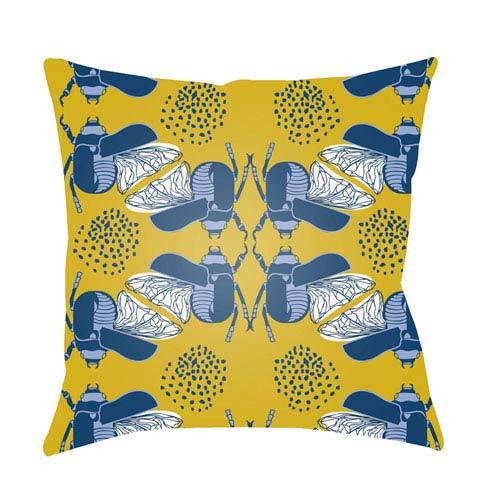 Surya Doodle Multicolor 22 x 22-Inch Pillow