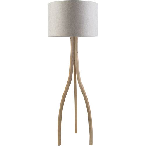 Duxbury Natural One-Light Floor Lamp