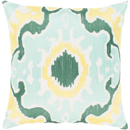 Surya Effulgence Multicolor 22 x 22 In. Throw Pillow