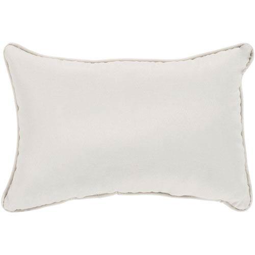 Surya Essien Beige 13 x 19 In. Throw Pillow