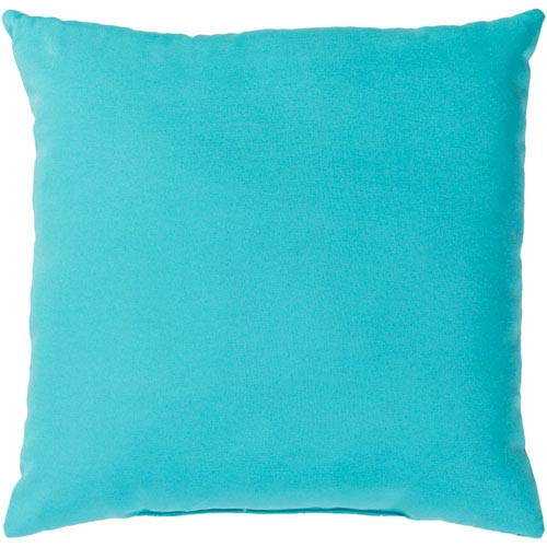 Essien Aqua 20 x 20 In. Throw Pillow