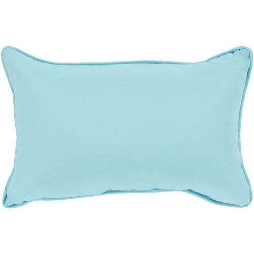 Surya Essien Aqua 13 x 19 In. Throw Pillow