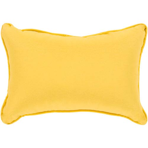 Surya Essien Saffron 16 x 16 In. Throw Pillow
