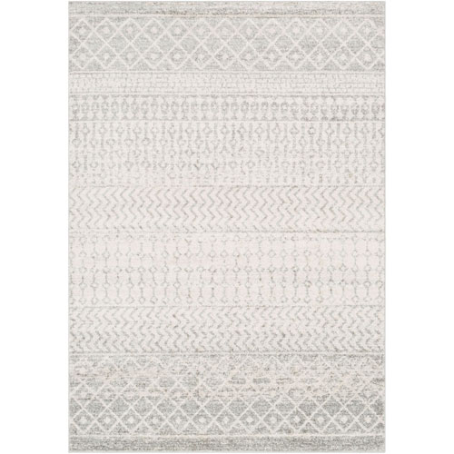Elaziz White Rectangle: 7 Ft. 10 In. x 10 Ft. 3 In. Rug