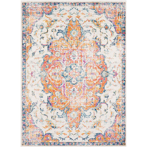 Surya Elaziz Orange Rectangle: 2 Ft. x 3 Ft. Rug