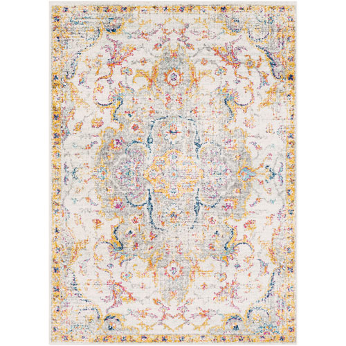 Surya Elaziz Yellow Rectangle: 7 Ft. 10 In. x 10 Ft. 3 In. Rug