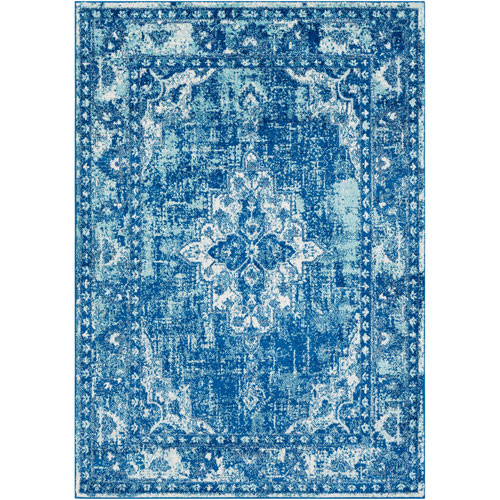 Surya Elaziz Blue Rectangle: 2 Ft. x 3 Ft. Rug