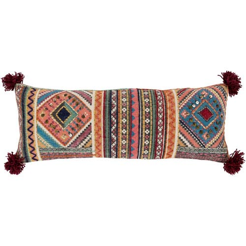 Lena Multicolor 30 x 12 In. Throw Pillow Cover
