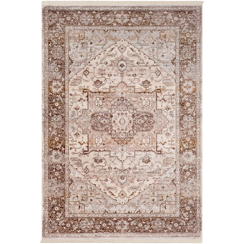 Surya Ephesians Brown Rectangle: 2 Ft. x 3 Ft. Rug