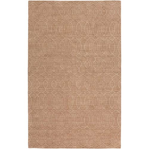 Etching Light Gray Rectangular: 2 Ft x 3 Ft Rug