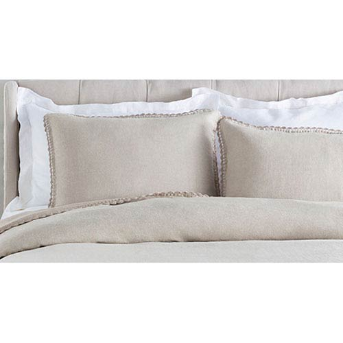 Evelyn Neutral King Sham