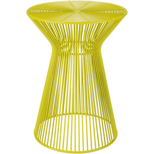 Fife Bright Yellow Accent Table