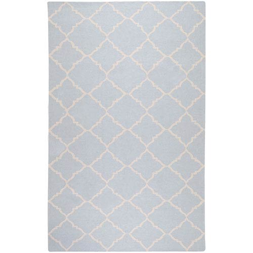 Surya Frontier Pale Blue Rectangular: 5 Ft. x 8 Ft. Rug