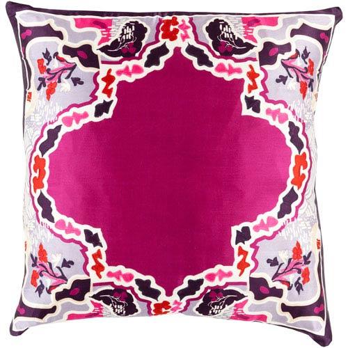 Geisha Purple 18-Inch Pillow Cover