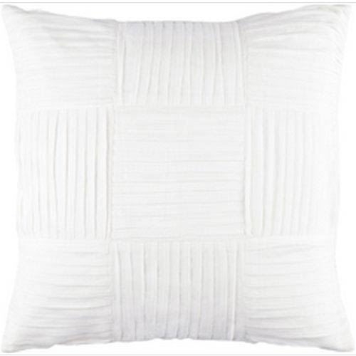 Gilmore Ivory 20-Inch Pillow with Down Fill