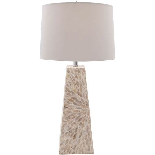 Gardner Shell Finish Table Lamp