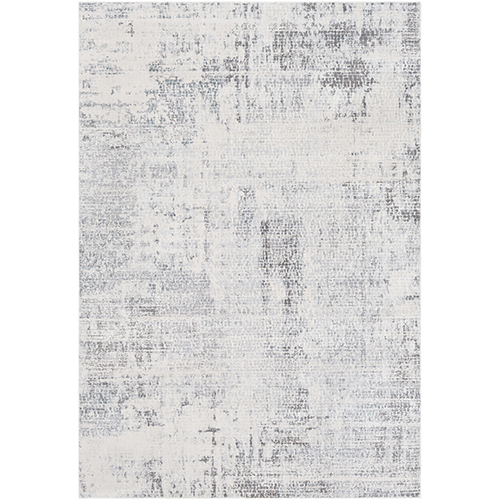 Genesis Grey and Taupe Rectangular: 5 Ft. 3 In. x 7 Ft. 6 In. Rug