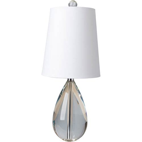 Surya Hayes Clear Table Lamp