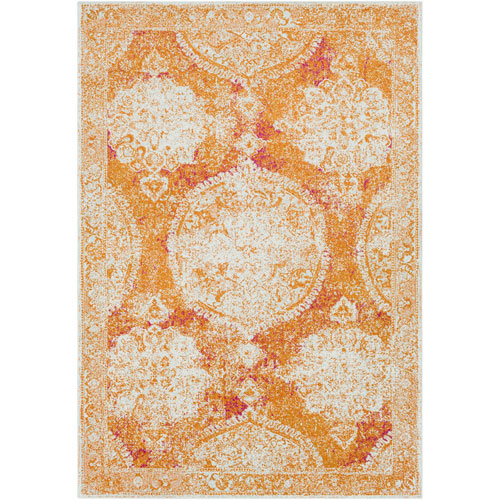 Harput Orange Rectangle: 9 Ft. 3 In. x 12 Ft. 6 In. Rug