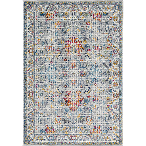 Harput Multicolor Rectangular: 5 Ft. 3 In. x 7 Ft. 3 In. Rug