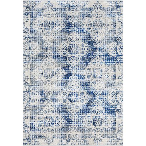Harput Blue Rectangular: 6 Ft. 7 In. x 9 Ft. Rug