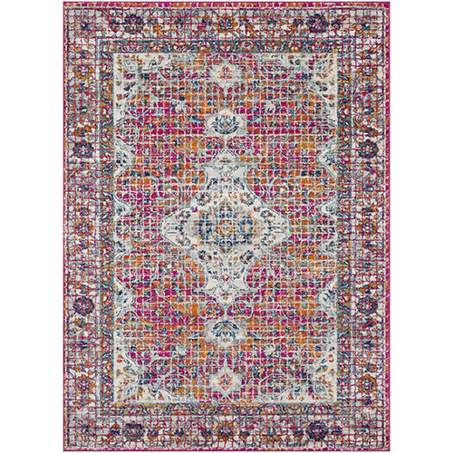 Harput Garnet Rectangular: 5 Ft. 3 In. x 7 Ft. 3 In. Rug