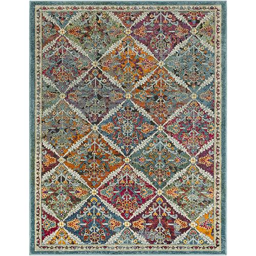 Herati Multicolor Rectangular: 9 Ft. x 13 Ft. 1 In. Rug