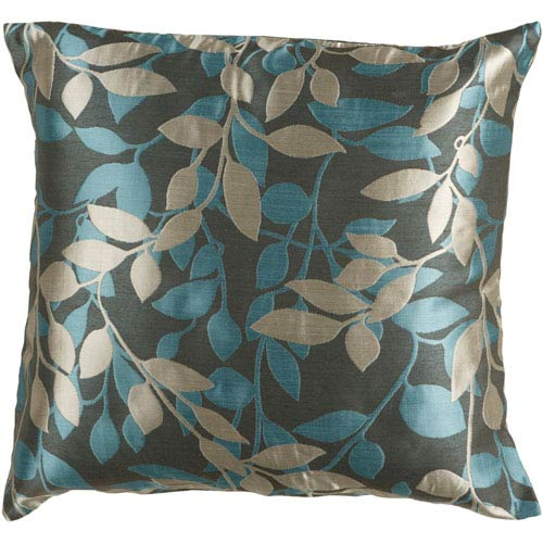 Wind Chime Green and Blue 22-Inch Pillow Cover