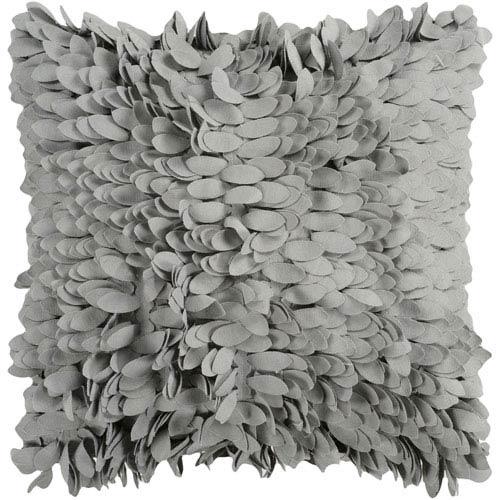 Surya Bay Leaf Plush Petal 22 x 22 Pillow
