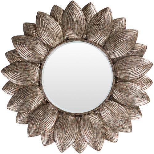 Helios Champagne Wall Mirror