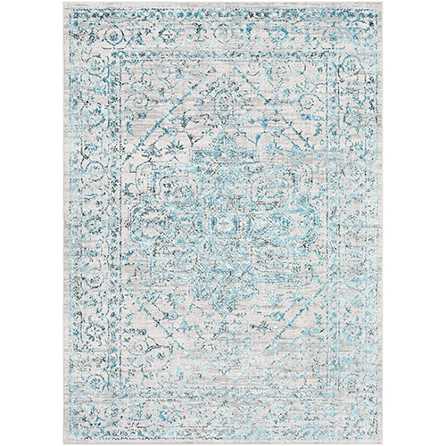 Himalayan Pale Blue Rectangular: 9 Ft. 3 In. x 12 Ft. 3 In. Rug